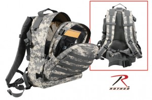 40149 Deluxe Digital Army MOLLE Long Range Assault Pack