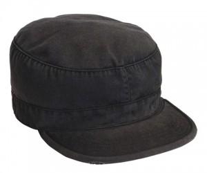 4503 VINTAGE BLACK FATIGUE CAP