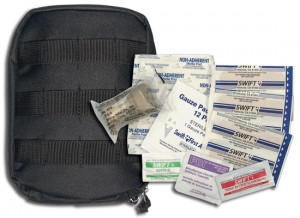 8776 BLACK MOLLE TACTICAL FIRST AID KIT